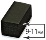 Толщина 9-11 мм (0-8°)